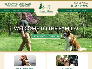Holiday House Pet Resort | Boarding