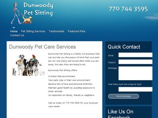 Dunwoody Pet Sitting Dunwoody