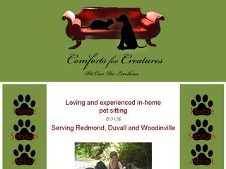 Comforts for Creatures | Boarding