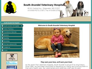 South Arundel Veterinary Hospital Edgewater