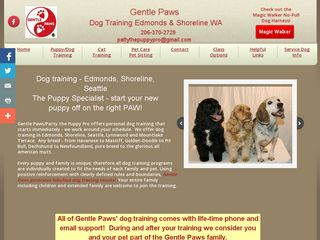 Gentle Paws Dog and Cat Training Edmonds