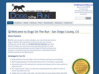 Dogs On the Run El Cajon