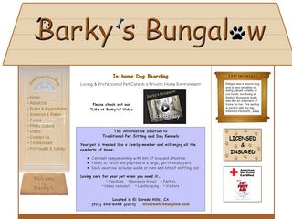 Barkys Bungalow | Boarding