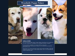 Woodside Puppy Palace | Boarding