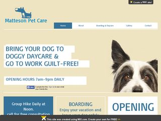 Matteson Pet Care | Boarding