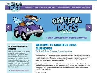 Grateful Dogs Clubhouse | Boarding
