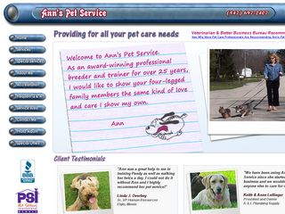 Anns Pet Service Elgin