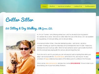 Critter Sitter Pet Care Elk Grove