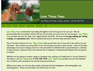 Love Those Paws | Boarding