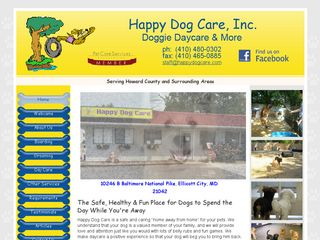 Happy Dog Care Inc. Ellicott City