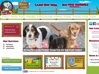 Camp Bow Wow Dog Boarding Elmwood Park | Boarding