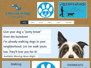 4 The Love of Dogs Walking Services Encinitas