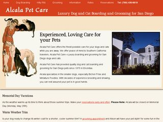 Alcala Pet Care | Boarding