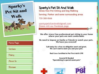 Sparkys Pet Sit and Walk Englewood