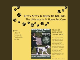 Kitty Sitty   Dogs To Go | Boarding