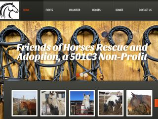Friends of Horses Rescue   Adoption | Boarding