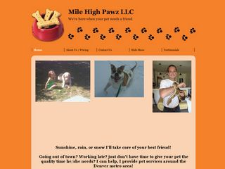 Mile High Pawz | Boarding