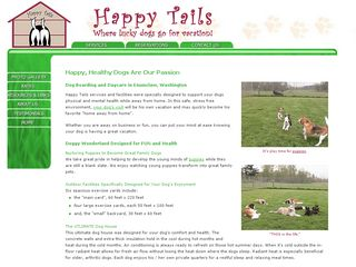 Happy Tails | Boarding