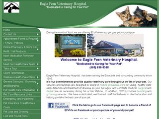 Eagle Fern Veterinary Hospital | Boarding