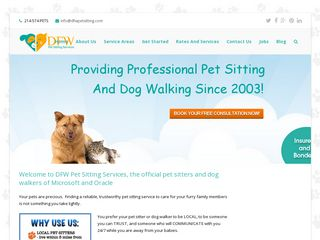 DFW Pet Sitting Services | Boarding