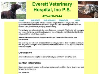 Everett Veterinary Hospital Everett