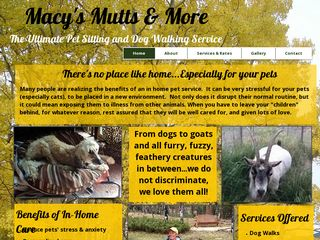 Macys Mutts and More Pet Care | Boarding