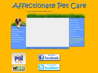 Affectionate Pet Care Fairfax