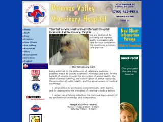 Potomac Valley Veterinary Hospital Fairfax