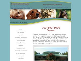 Crosspointe Animal Hospital | Boarding