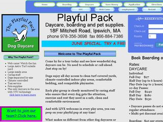 Playful Pack | Boarding