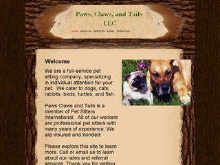 Paws Claws and Tails Petsitters | Boarding