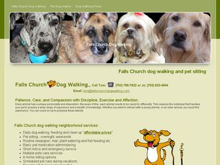 Falls Church Dog Walking Falls Church