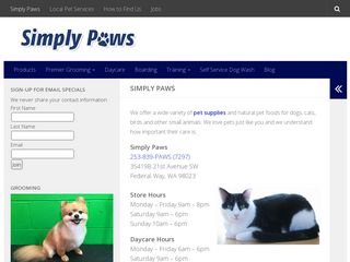 Simply Paws Federal Way