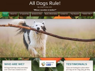 All Dogs Rule | Boarding