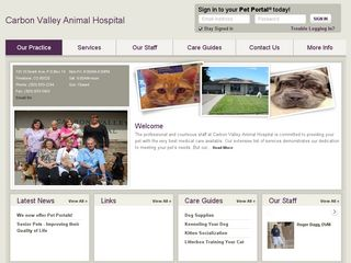 Carbon Valley Animal Hospital | Boarding