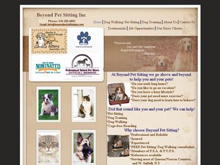 Beyond Pet Sitting | Boarding