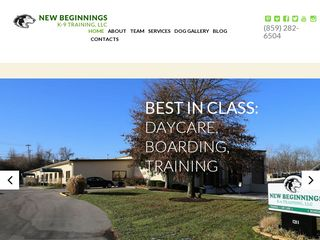 New Beginnings K Nine Training | Boarding