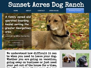 Sunset Acres Dog Ranch | Boarding