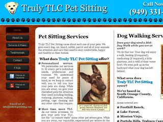 Truly TLC Pet Sitting Foothill Ranch