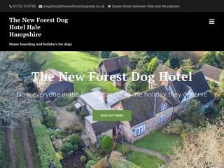 The New Forest Dog Hotel | Boarding