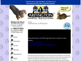 Arfington Pet Resort Fort Lauderdale