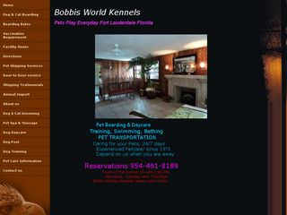 Bobbis World Kennels Fort Lauderdale