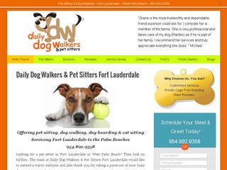 Daily Dog Walkers Fort Lauderdale