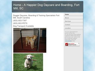 A Happier Dog Fort Mill