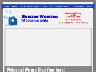 Bowzee Wowzee Pet Boarding Fort Mill