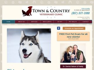 Town & Country Veterinary Clnc | Boarding