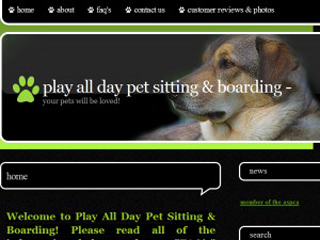 Play All Day Pet Sitting   Boarding | Boarding