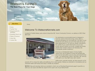 Watsons Kennel | Boarding