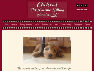 Chelsea 's Pet and Home Sitting Services Fountain Hills