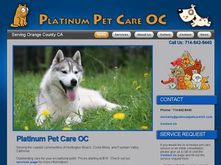 Platinum Pet Care OC | Boarding